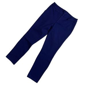 Kut from the Kloth Blue Skinny Ankle Dress Pants